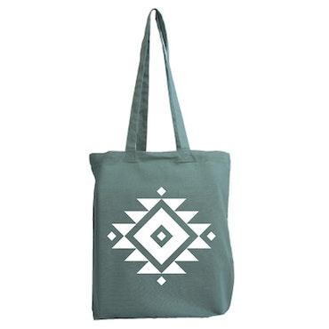 Tygkasse Aztec mönster 10