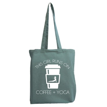 Tygkasse Yoga & Kaffe