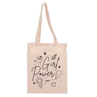Tygkasse Girl Power