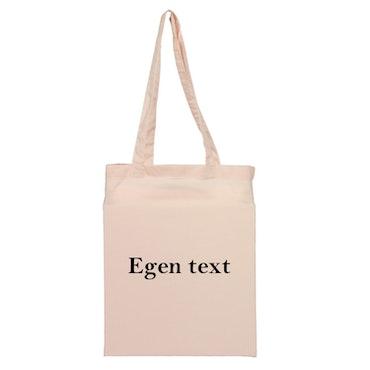 Tygkasse Egen text