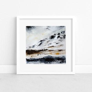"Acrylic Painting ""Fjelluft"""