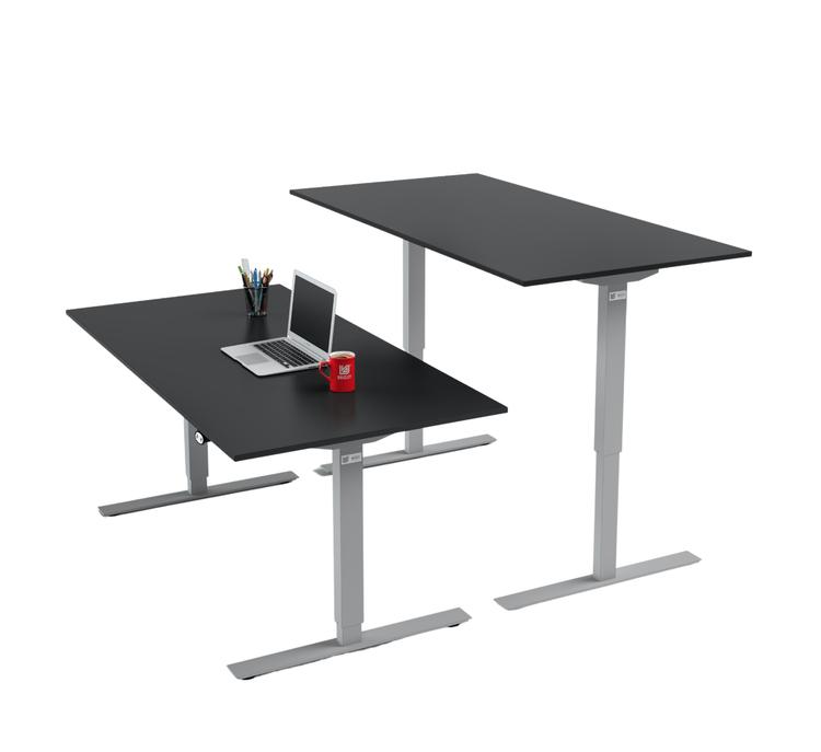 Montering av höj- & sänkbart skrivbord