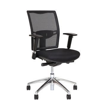 Montering av kontorsstol med armstöd