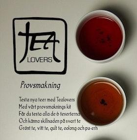 Tealovers provsmakning
