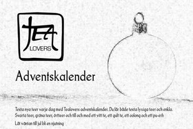 Tealovers Te adventskalender