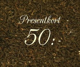 Presentkort 50:-