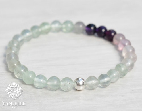 Nouelle Exclusive Armband | Fluorit