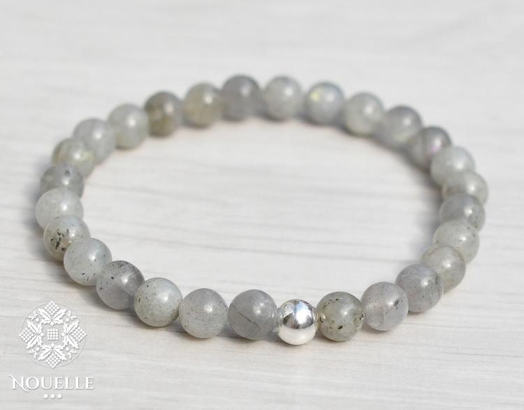 Nouelle Armband | Labradorit
