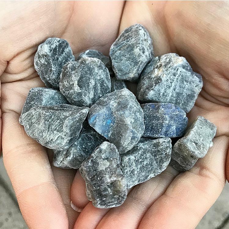 Labradorit | Rå sten