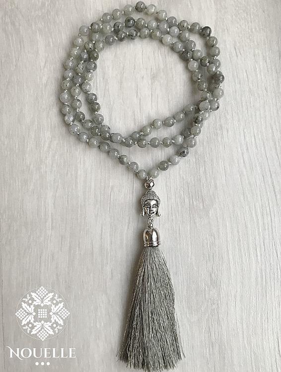 Buddha Mala - Labradorite