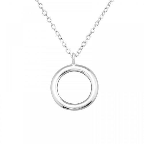 Silverhalsband - Cirkel