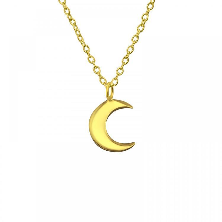 Guldhalsband - Måne