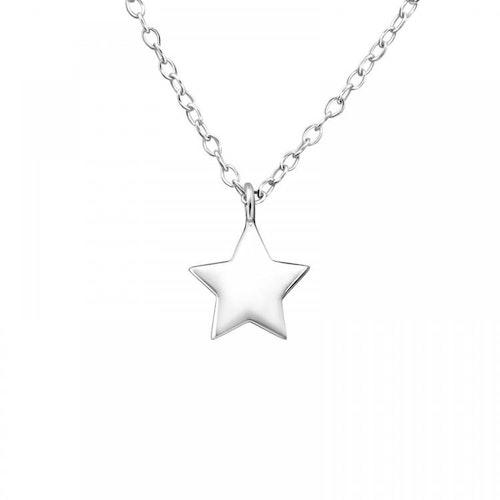Silverhalsband - Stjärna