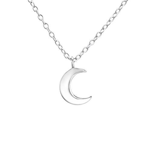 Silverhalsband - Måne