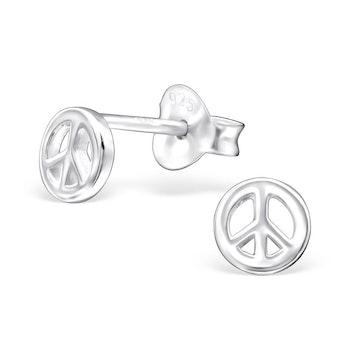 Örhängen Peace Silver