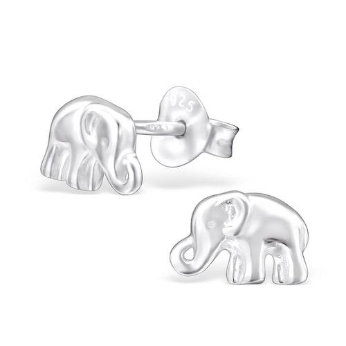 Örhängen Elefant Silver