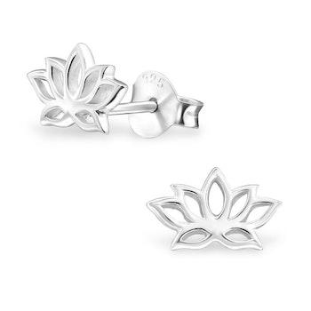 Örhängen Lotus Silver