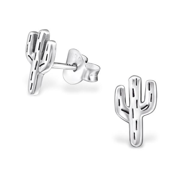 Örhängen Kaktus Silver