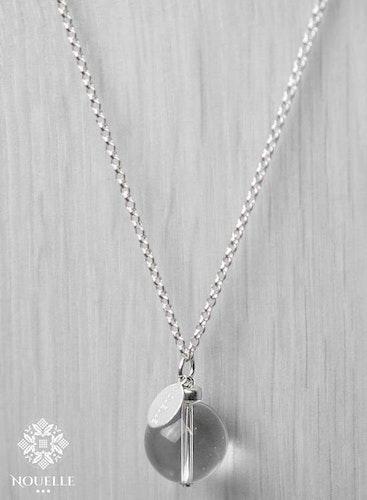 Silverhalsband - Bergkristall