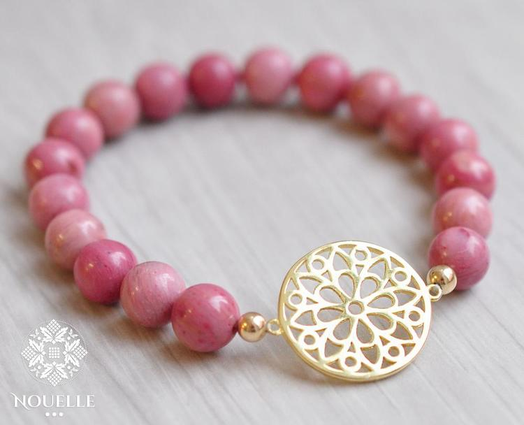 Bloom Armband - Rodonit