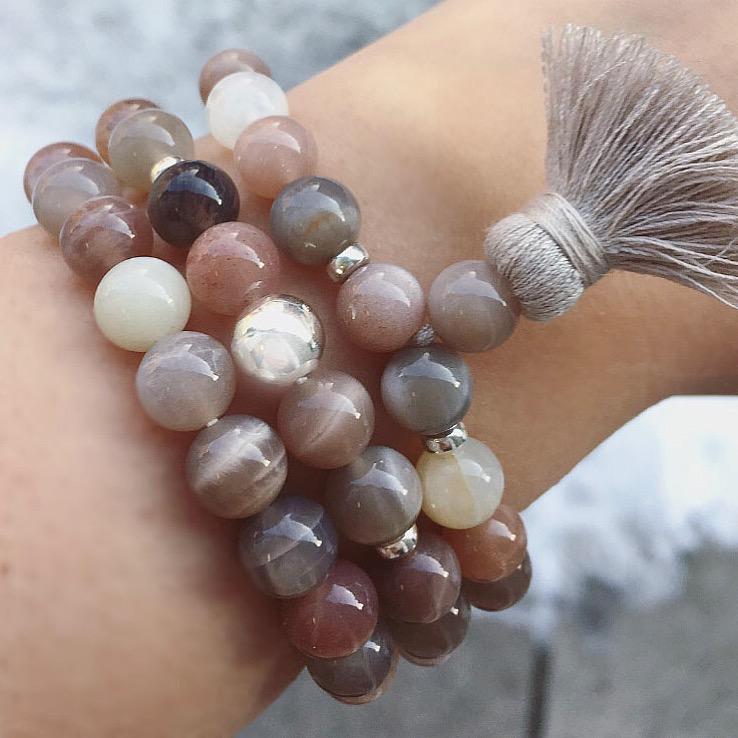 Moonstone Armband