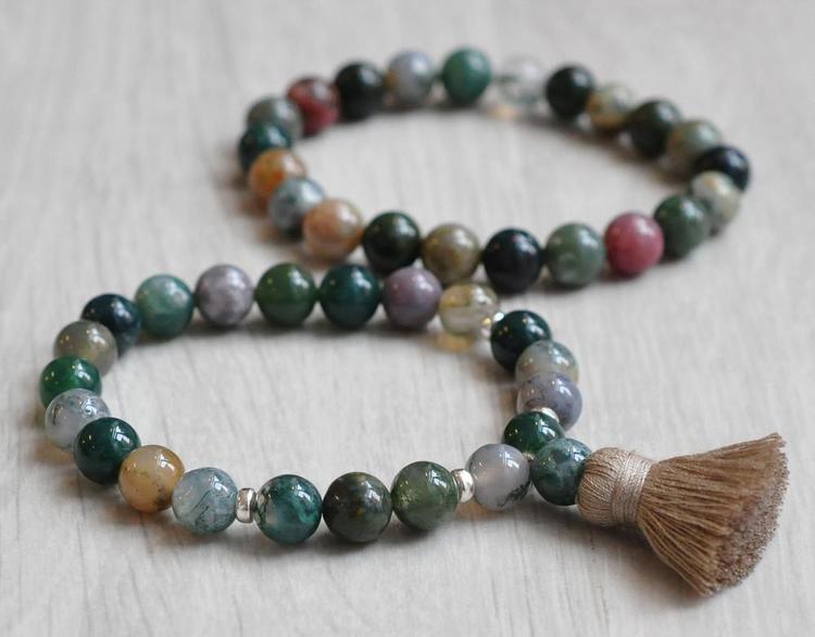 Indian Agate Armband