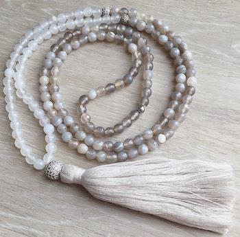 Agate Halsband & Armband Set