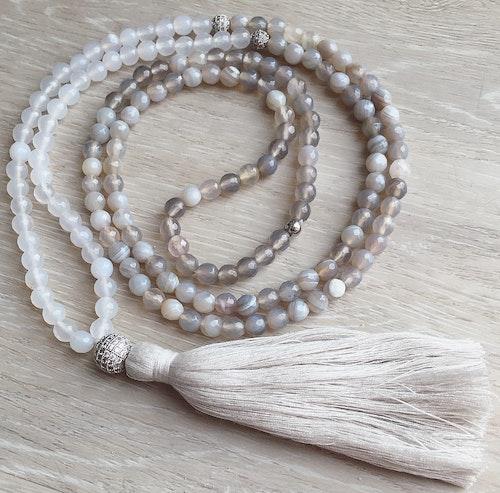 Agate Halsband