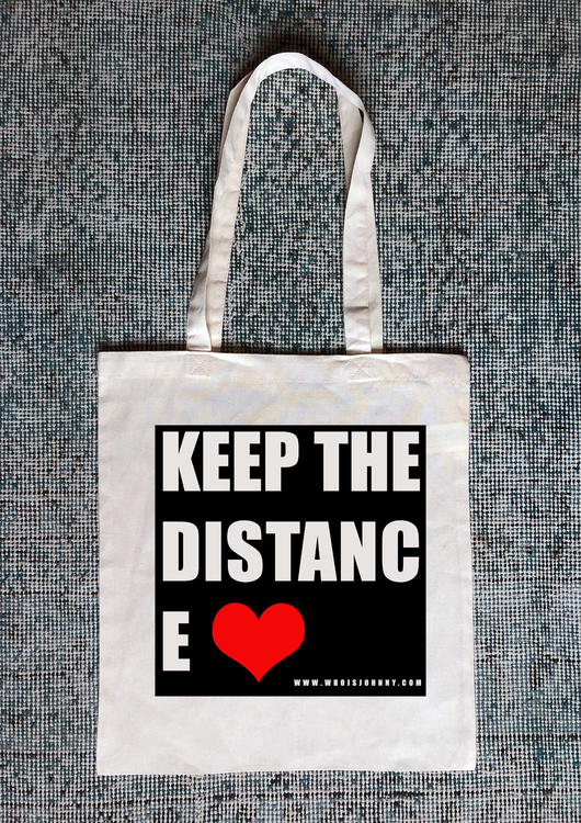 Keep The Distance red Heart
