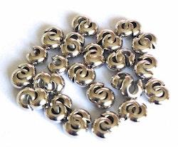Antikfärgade knutgömmor 4 mm, ca 100 st