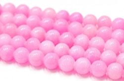 Jade 6 mm rosa, 10 strängar