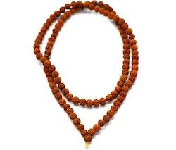 Rudraksha 6 mm, 108 pärlor