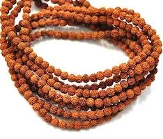 Rudraksha 8 mm, 108 pärlor