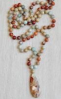 Serpentin, litet hänge, 1 st