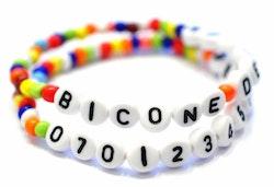 Seed beads vita ca 4 mm, 20 gr (ca 150 st)