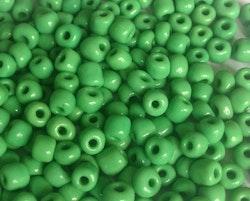 Seed beads 4 mm grön, 20 gr (ca 150 st)