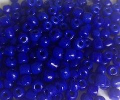 Seed beads 4 mm mörkblå, 20 gr (ca 150 st)