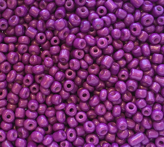 Seed beads 4 mm lila, ca 2500 st