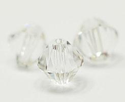 Swarovski 8 mm bicone glas, 1 st