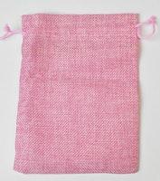 Smyckespåse rosa 13 cm, 1 st