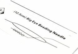 Big eye nål, 1 st