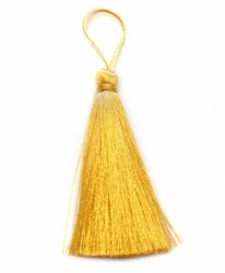 Handgjord silkestofs guld, 1 st