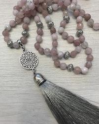 Handgjord silkestofs grå, 1 st