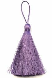 Handgjord silkestofs violet, 1 st