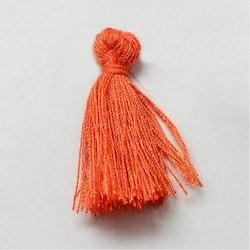 Bomullstofs orange, 10 st