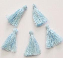 Bomullstofs ljusblå, 10 st