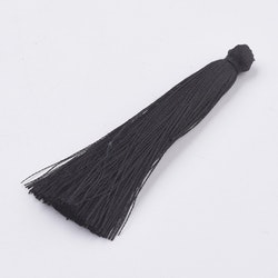 Nylontofs 65 mm svart, 1 st