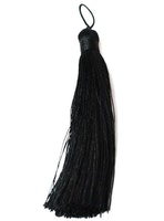 Nylontofs 105 mm svart, 1 st