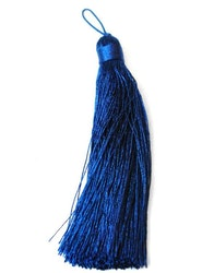 Nylontofs 105 mm blå, 1 st