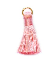 Nylontofs rosa 30 mm, 1 st